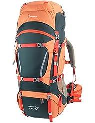 Mountaintop 65+10 Liter Erwachsene Trekkingrucksäck, 36 x 25 x 78 cm