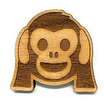 Neodym Kühlschrank Magnet Affe nichts hören