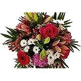 BLUMENSTRAUß zum versenden | bunt gestaltet | viele ver. Blumen der Saison | wunderschöner Blumenstrauß ideal zum Geburtstag