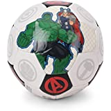 Disney Avengers Soccer Ball packed in PolyBag for Children of age 3 years onwards   Imported Premium Quality   Certified Safe as per European Safety Standards (EN71)   Sports development toys for Kids   Multi Color   Size 3