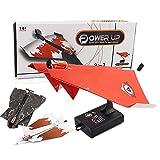 Zantec Kreative Kinder Elektrische Power Up Papier Flugzeug Mini Flugzeug Modell DIY Fliegen Kit Spielzeug (Zufällige Farbe)