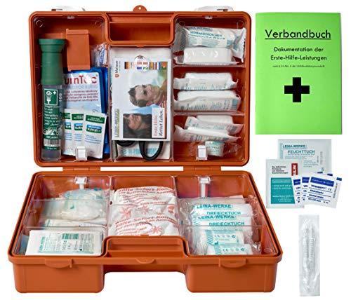 Erste-Hilfe-Koffer Gastro PRO für Betriebe DIN/EN 13157 inkl. Augenspülung + Brandgel + detektierbare Pflaster + Hydrogelverbände