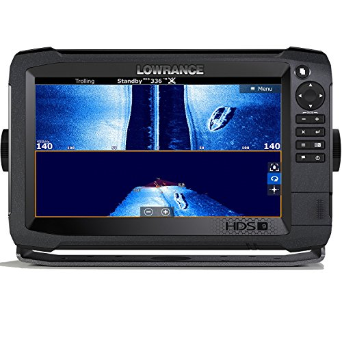 Lowrance HDS-9 Carbon MFD with StructureScan 3D Module and 3D Transom Mount Transducer (Lowrance Hds)