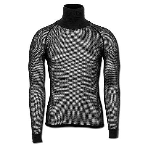 Brynje Poloshirt schwarz Größe - Brynje Unterwäsche