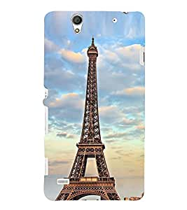 Effie Tower In Morning 3D Hard Polycarbonate Designer Back Case Cover for Sony Xperia C4 Dual :: Sony Xperia C4 Dual E5333 E5343 E5363