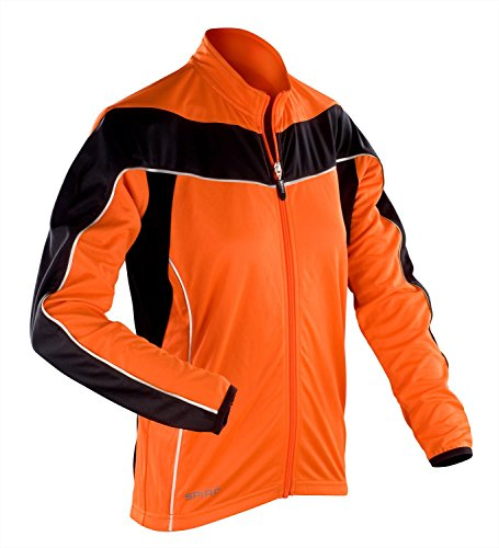 Spiro - Veste de sport - Femme Orange/ Black