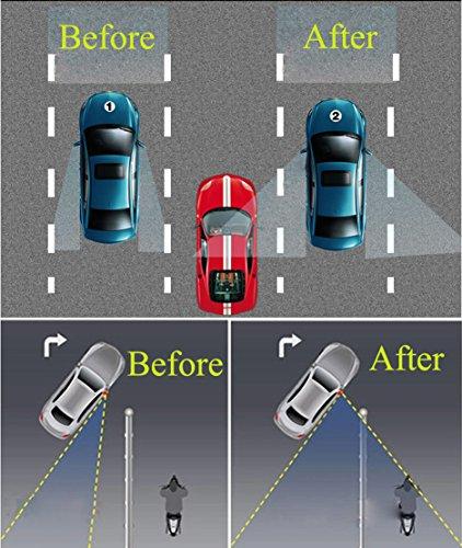 Blind Spot Mirrors For Cars Beskoohome Waterproof 360
