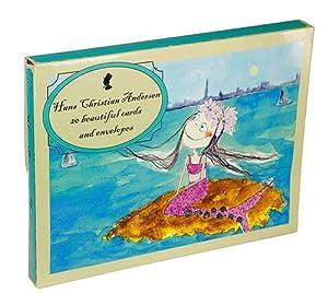 Hans Christian Andersen Tarjetas de felicitación La Sirenita (Barbo Toys 6311)