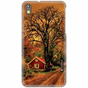 Printland Back Cover For HTC Desire 816G - Nature Art Designer Cases