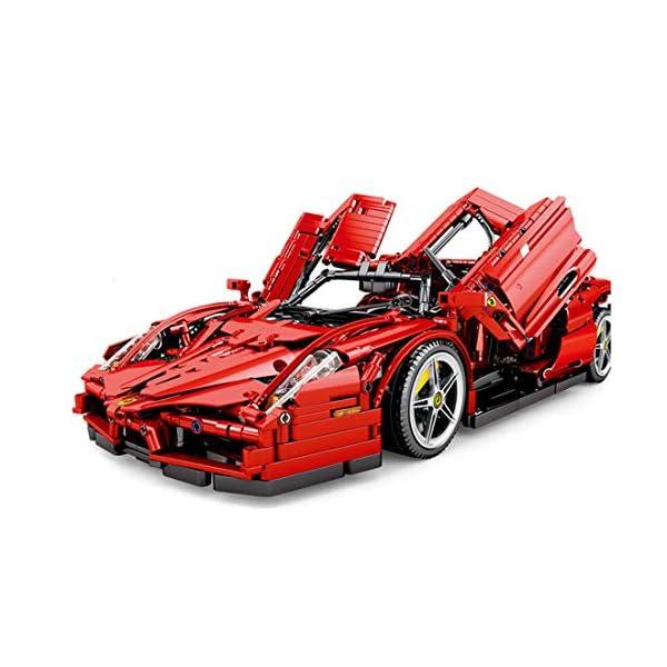Tosbess Technic Auto Sportiva Ferrari Enzo, 2,4Ghz RC 1:10 Auto con Motore e Telecomando, 2615 Pezzi Blocchetti di… 2 spesavip