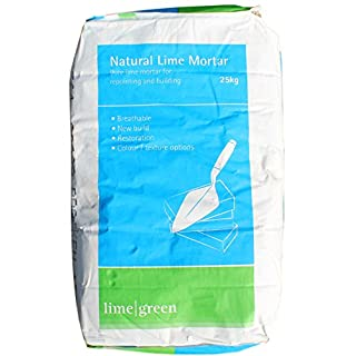 Lime Green Natural Hydraulic Lime Mortar Nhl 3.5 (25Kg)