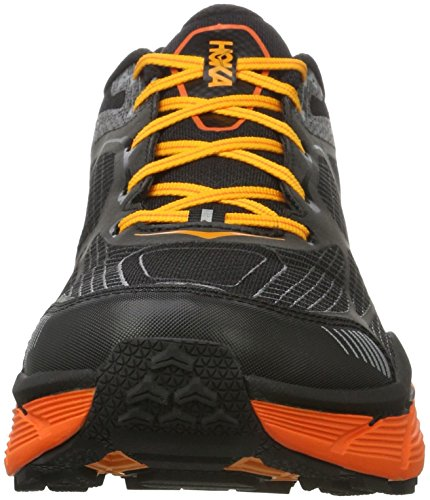 HOKA one one Challenger Atr 3, Chaussures de Trail Homme Noir (Black/red Orange)