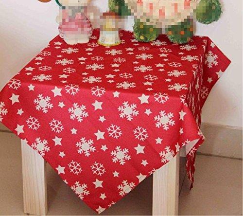 ke Stoff Stoff rechteckig Home Picknick Staubdicht Anti-Fouling Soft Premium Tisch 140 * 200cm , 140*140cm ()