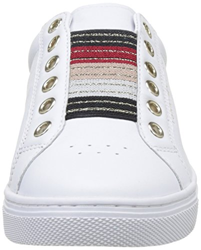Tommy Hilfiger Damen V1285enus 8a1 Sneakers Weiß (White 100)