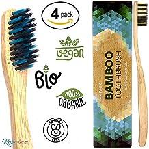 Cepillo de dientes de Bambú ecológico - vegano - biológico eco 97edae6f7773