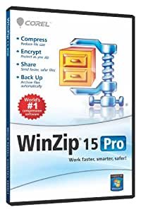 WinZip 15 Pro Single User (PC)