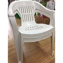 Chaise plastique jardin for Chaise de jardin plastique blanc