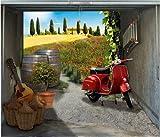 Garagentor Fotoplane, Bella Toscana B 245 cm x H 210 cm
