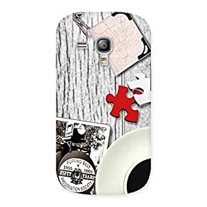 Vintage Multicolor Style Back Case Cover for Galaxy S3 Mini