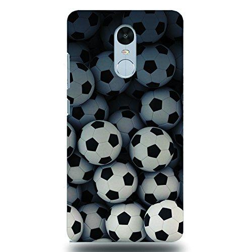 Dark Horse Redmi Note 4 Mobile Case - Footballs