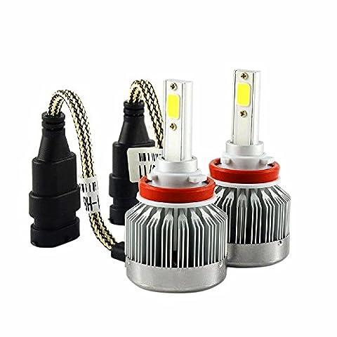 2 PCS LED Auto Scheinwerfer H11 40W Driving Glühlampe Licht