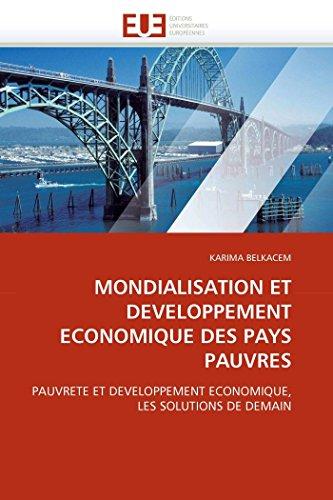 Mondialisation et developpement economique des pays pauvres