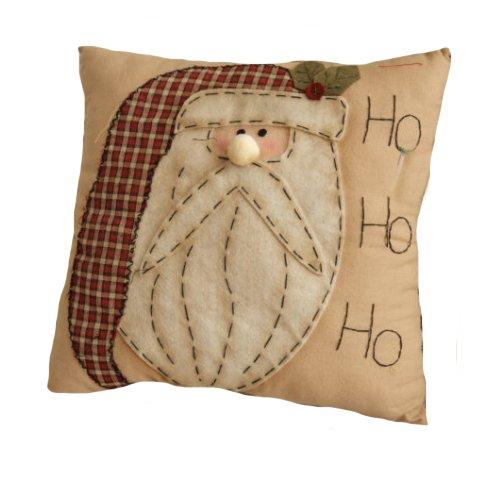 Your Hearts Delight HO. Ho. Ho. Santa Stitchery Kissen, 12Zoll -