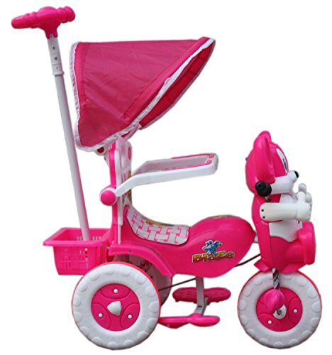 Tricycle Pink 86*64*33 cms 1-3 yrs W/Shade and Parental Control PINK
