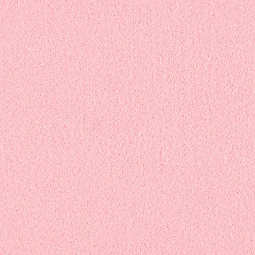 Unbekannt Filz 90cm/3mm stark, 7 rosa — Meterware ab 0,5 m — zum Nähen von Accessoires, Taschen und Karnevalsartikeln