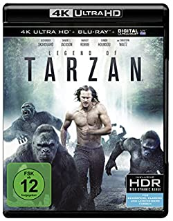 Legend of Tarzan (4K Ultra HD + 2D-Blu-ray) (2-Disc Version) [Blu-ray]