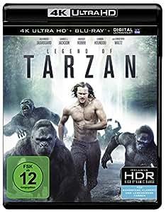Legend of Tarzan (4K Ultra HD + 2D-Blu-ray) (2-Disc Version) [Blu-ray]