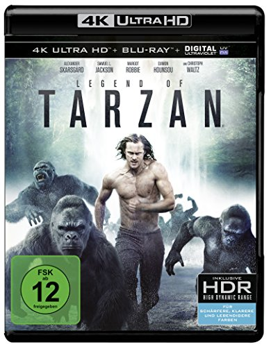 Legend of Tarzan - Ultra HD Blu-ray [4k + Blu-ray Disc]