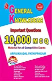 GENERAL KNOWLEDGE: 10000 COMPETITIVE EXAMS QUESTION AND ANSWER