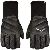 SALEWA ortles 2Primaloft Gloves Guantes, Otoño-Invierno, Mujer, Color Black out, tamaño Medium