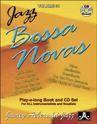 Vol. 31, Jazz Bossa Novas (Book & CD Set) (Play- a-Long) by Jamey Aebersold (1999-12-28)