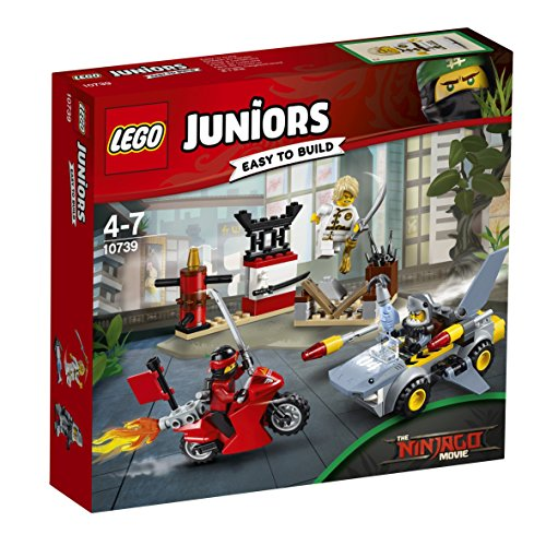 LEGO - 10739 - Juniors - Jeu de Construction - L'Attaque du Requin