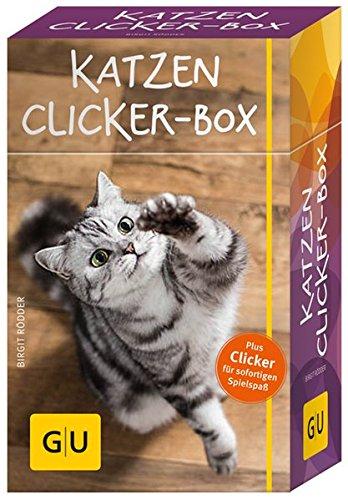 Preisvergleich Produktbild Katzen-Clicker-Box: Plus Clicker für  sofortigen Spielspaß (GU Tier-Box)