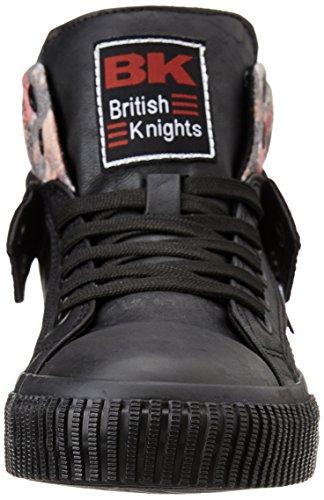 British Knights ROCO FILLES HAUT-DESSUS SNEAKER NOIR/NOIR