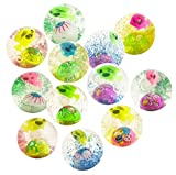 #6: WonderKart® Kids LED Flashing Water Filled Bouncing Rubber Ball - Pack Of 3 Ball