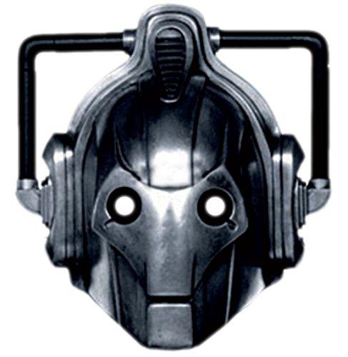 Halloweenia - Erwachsenen Cyberman Karneval Faschingsmaske, (Cyberman Halloween Kostüme)