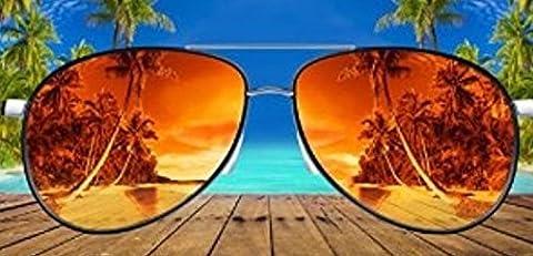 Taille L 100% coton DESIGN avitar Lunettes de soleil/plage serviette