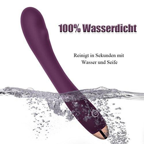 Vibratoren Klitorisstimulator aus medizinischem 8 kraftvollen Vibrationsstufen für Anfänger Atemberaubende Stimulation, sehr leise, Wasserdicht