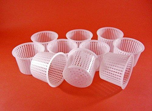 10 x Käseform 6x4.7cm - 150g - Käseformen | Korb | Käseherstellung | Lab