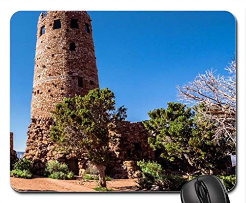 Watchtower Ruins at The Grand Canyon Mouse Pad, Mousepad Grande Monogramm