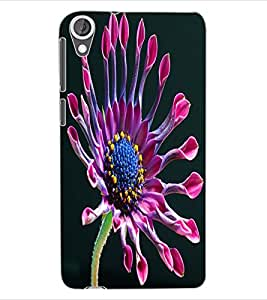 ColourCraft Beautiful Flower Design Back Case Cover for HTC DESIRE 820