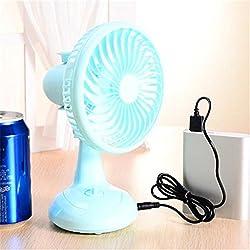 Fan Portable USB Mini Desktop Desk Table Electric Rechargeable Fan...