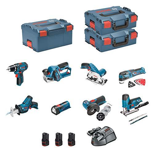BOSCH Kit 12V BMK8 28CD3 GSR 12V 15 + GKS 12V 26 +