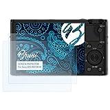 Bruni Schutzfolie für Sony DSC-RX100 III Folie - 2 x glasklare Displayschutzfolie