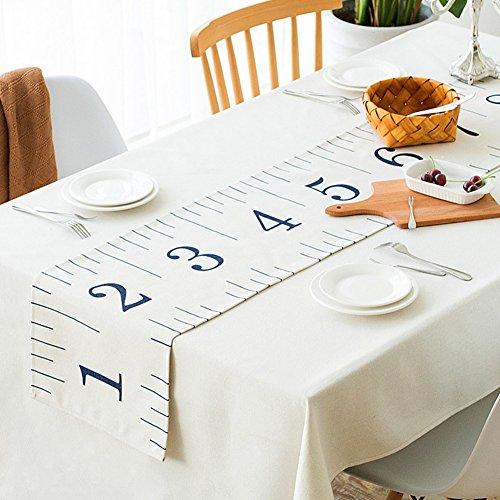 Preisvergleich Produktbild Tischläufer pflanze blumen american style pastorale hand-gemalt fluidsysteme tisch cloth tv cabinet teetisch tischtuch decken handtücher-D 33x190cm(13x75inch)