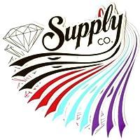 Supply Co. Adesivi Skateboard Sticker–diversi colori–1pezzo,